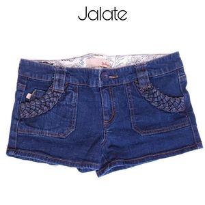3/$25 🥂 Jalate Denim Shorts w/ Braided Pocket
